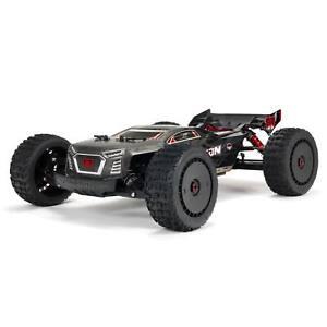 ARRMA 1/8 TALION 6S BLX 4 Wheel Drive EXtreme Bash Speed Truggy RTR Black