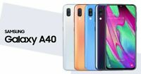 SAMSUNG GALAXY A40 BRAND NEW 2019 64GB Dual SIM 4G LTE Android Smartphone