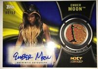 2018 Topps WWE NXT Autograph Shirt Relics (All Sets Included) Pick From List