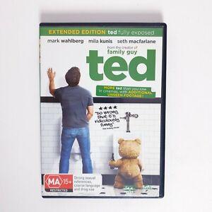 Ted Movie DVD Region 4 AUS Free Postage - Comedy Mark Wahlberg