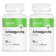 OstroVit Ashwagandha Extrakt 180 Tabletten hochdosiert Withanoliden No Kapseln