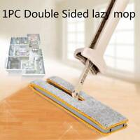 Self-Wringing Double Sided Flat Mop Telescopic Handle Mop Floor Cleaning Tools