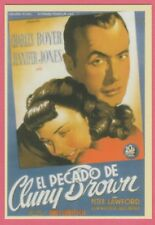 2008 Spanish Pocket Calendar #213 Cluny Brown Film Poster Charles Boyer
