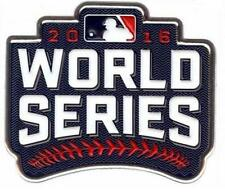 Official 2016 MLB World Series Collectible Patch Cleveland Indians Chicago Cubs
