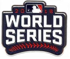 Official 2016 MLB World Series Patch Cleveland Indians vs Chicago Cubs