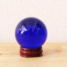 """Eye Naga Amulet Thai Lucky Gem Crystal 5"""" Blue Powerful Buddha Talisman charm"""