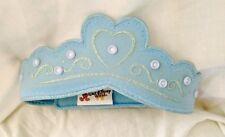 Walt Disney World Blue Princess Cinderella Felt Headpiece W/Velcro