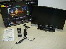 "TVAXESS TVD1801-19 19"" LED AC/DC TV/DVD COMBO HDTV W HDMI & REMOTE -READ!"