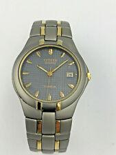 Citizen Watch 2510-S93592 Men's Classy Quartz Titanium Date 2 Tone Working