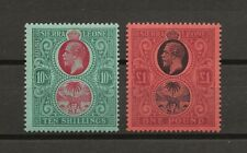 SIERRA LEONE 1912-21 SG 127/28 MINT Cat £370