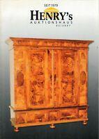 HENRY'S AUKTIONSHAUS - Magazin Heft Antiquitäten Auktionen 02/2007 - B15073