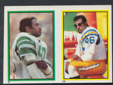 Topps 1984 American Football Sticker No's 193 & 43 - Muncie & Griggs (T500)