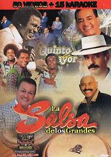 Salsa De Los Grandes Classica 70s 80s DVD 50 Music Videos Sonora Poncena