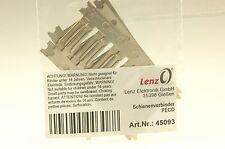 Lenz 45093 Schienenverbinder PECO 24 Stück NEU und OVP