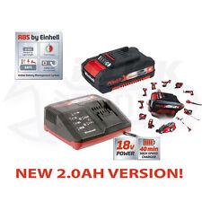 Einhell Power X Change Battery Charger Starter Kit 18 Volt 1 x 2.0Ah Li-Ion 18v