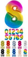 XXL Numeri Palloncino 100 CM Cifre Compleanno Giubileo Silvestro