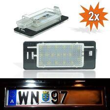 Opel Vectra C Caravan Kombi LED SMD Kennzeichen Leuchten Nummernschild J04