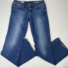 Gap 1969 Womens Jeans 28 Regular Blue Sexy Bootcut Low Rise Casual Pants Denim