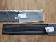 NLA Genuine Mercedes-Benz R107 SL SLC BLACK Door Sill A10768601807003 Set of 2
