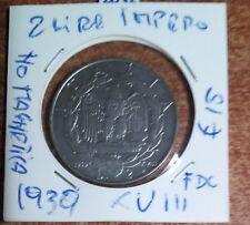 2 LIRE IMPERO,NON  MAGNETICA 1939  N.2062