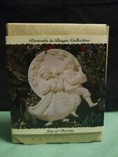 Hallmark 1993 Joy of Sharing Portraits in Bisque Showcase Christmas Ornament