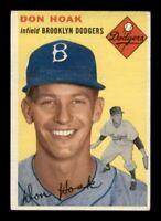 1954 Topps Set Break # 211 Don Hoak VG-EX *OBGcards*