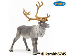 Papo REINDEER solid plastic toy figure wild zoo animal deer stag buck * NEW *💥