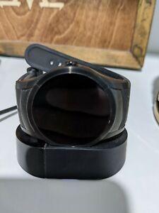 Verizon Wear24 42mm Stainless Steel Case Black Classic Buckle (Verizon)
