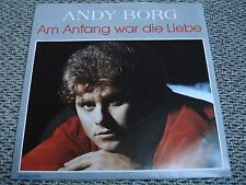 """7"""" Single - Andy Borg - Am Anfang war die Liebe - 1986"""