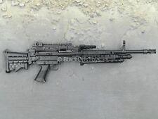 1/6 Scale Toy RIFLE - Black Mk48 MOD1 Light Machine Gun