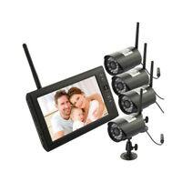 """7"""" TFT LCD 2.4G Wireless DVR Monitor Night Vision Camera Home Security System"""