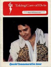 Elvis Presley Fan Club Magazine Special Commemorative Issue