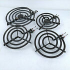 Four GE Hotpoint Stove Range Replacement Heating Coil Electric Stovetop Burners photo