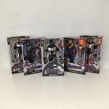 Marvel Avengers Action Figures Black Panther,Iron Man,Cap America/Marvel #404