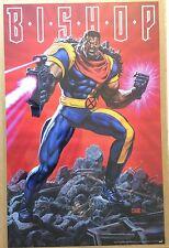 NEW Marvel Comics Bishop I Poster 1994