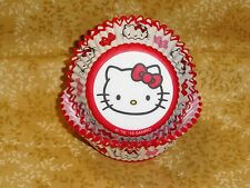 Hello Kitty Hearts,Cupcake Papers,Paper,50 Ct.,Wilton,415-7620,Red,Valentines