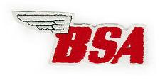 BSA B S una toppa ricamata Sew sul
