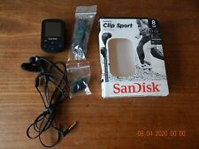 SanDisk Clip Sport  Wearable MP3 Player, 8GB, Water Resistant - USED