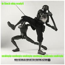 """Ship Ready!3A Ashley Wood Popbot Obsidian TK Tomorrow King Shadow Mode 12"""""""