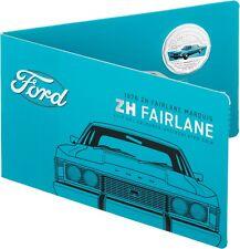 2017 Australia 50c Coloured UNC Coin- 1976 ZH Fairlane Marquis Classic FORD Car