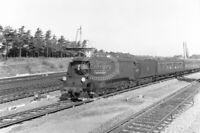 PHOTO British Railways Steam Locomotive 34077 Class Bulleid BB Class 4-6-2