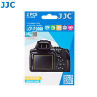 JJC 2pcs PET LCD Guard Film Camera Screen Protector for Nikon COOLPIX P1000 P950