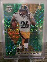 2020 Panini Mosaic Football Anthony McFarland Jr. RC Green Prizm #237 Steelers