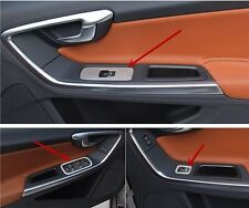 Chrome stainless steel door armrest panel decorative trim for Volvo XC60 S60 V60