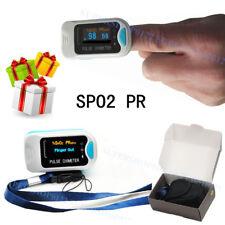 OLED Blood Oxygen Finger Tip Pulse Oximeter Oxymeter SPO2 PR Monitor 4 modes