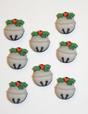 Jingle All the Way / Bell Shape Shank Back Buttons / Buttons Galore Holiday