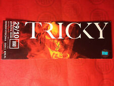 TRICKY ADRIAN THAWS - LIVE IN GDAŃSK B90 - TICKET WITH AUTOGRAPH - 29.10.2014