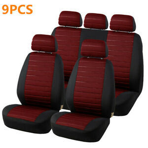 Polyester Car Full Set Seat Cover Washable Protector Fit All Standard Cars Seats