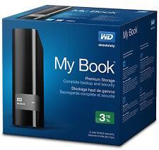 "Western Digital My Book Essential 3 TB 3.5"" External Hard Drive 3TB HDD USB3.0"