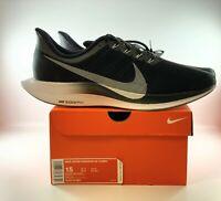 Nike Air Zoom Pegasus 35 Turbo Running Men Shoes Size 15 Black AJ4114001